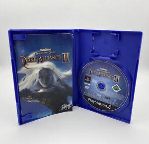 Baldur's Gate Dark Alliance II 2 Anleitung Hülle OVP CIB PS2 Playstation 2 Spiel