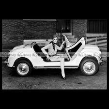 #pha.020332 Photo FIAT 500 GAMINE 1967-1971 (VIGNALE) Car Auto