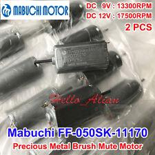 2PCS MABUCHI FF-050SK-11170 DC6V 9V 12V 13300RPM Mini DC Motor Car CD DVD Player