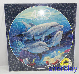 F.X. Schmid FOR DOLPHIN LOVERS CIRCLES CIRCLE 91253 440 PIECES PUZZLE New Sealed