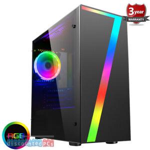 AMD Ryzen 3200g Quad Core Gaming Pc GTX 1660 6gb Computer  WIFI Seven up140
