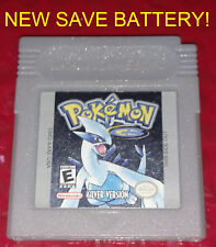 Pokemon Silver Version w/ New Save Battery! Refurbished GameBoy Color GB