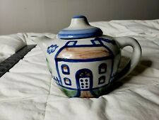 M.A. Hadley Art Pottery Teapot Hand Painted
