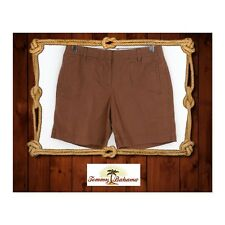 Tommy Bahama Women's Shorts Brown 97% Cotton EUC MSRP %88 A5