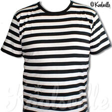 Striped Crew Neck Short Sleeve Basic T-Shirts for Men