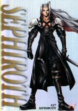 Final Fantasy 7 VII FF7 Carddass Masters 1st Ed Trading Card #37 Sephiroth HOLO