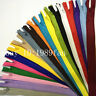 Nylon 3# Invisible Zippers (12-20 inch )Tailor Sewing Craft 10 pcs (20 colors)
