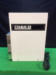 HAKKO HJ3100 FUME EXTRACTION SYSTEM. For Parts.