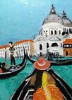 """Original oil painting Venice without frame  size 9x7"""" (24x18 cm)  canvas board"""