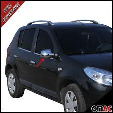 Dacia Duster Sandero Stepway Logan MCV Chrom Edelstahl Spiegelkappen Blenden