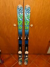 K2 Indy Kids Skis w/ Salomon L7 Bindings- 124 cm Used 1 Owner Good Condition