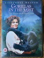 Gorillas in the Mist DVD 1988 True Life Dian Fossey Biopic with Sigourney Weaver