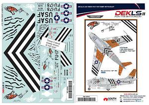 1/32 Decals F-86A 'Papa Tiger' of Cliff Spinks warbird G-SABR DEKL'sII