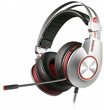 NUBWO K5 Gaming Headset PC USB Stereo Over-ear Headphones With Microphone Mute