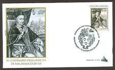 Vatican City Sc# 1604,  Birth of Pope Innocent XII, First Day Cover