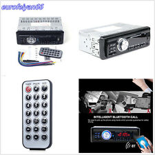1131B 1-Din Bluetooth Hands-free Car Audio Stereo Mp3 Player Aux Remote Control