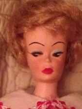 Vintage 1960s Barbie Clone Lilli Ash Blonde Bubble Cut Twist N Turn TNT Doll