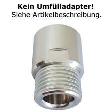 CO2 Adapter geeignet für Sodastream Flaschen Zylinder Druckminderer Aquarium