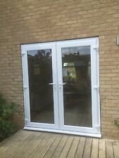 French doors  in white pvc