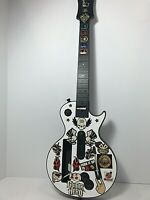 Nintendo Wii Guitar Hero Gibson Les Paul Wireless Controller No Strap, TESTED!