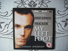 THE D/MAIL PROMO DVD FILM- MY LEFT FOOT - STARRING DANIEL DAY LEWIS .