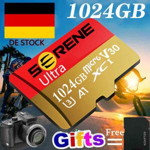 64GB-1024GB SD Micro TF Karte Speicherkarte 325MB/S Class10 4K Memory Card