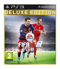 FIFA 16 Deluxe Edition Playstation 3 Multiplayer PAL 2015 Game