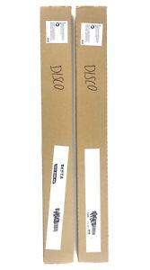 """2x IKEA Two Besta Suspension Rail Mount 22.5"""" Long 302.848.46 New"""