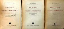 (Diritto) L. Lordi - ISTITUZIONI DI DIRITTO COMMERCIALE-  CEDAM 1943