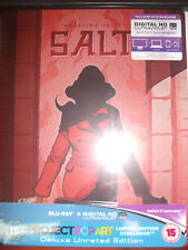 Salt Blu Ray Steelbook [U.K.] Pop Art Ultra Limited Edition! 500 Print Run! NEW!
