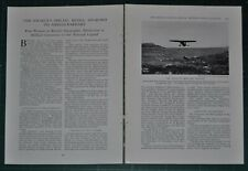 1932 magazine article, National Geographic Medal Awarded to AMELIA EARHART
