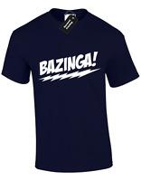 BAZINGA MENS T SHIRT BIG SIZES S-5XL BANG SHELDON THEORY SOFT KITTY PENNY TOP