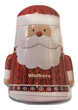 Walkers Shortbread 'Wobbly' Santa Christmas Tin 200g - Made in Scotland