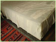 Combed Cotton Light Cream Bed Sheet Valance King Size