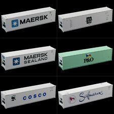 1:87 40ft Hi-Cube Refrigerater Reefer Container Freight Cars HO Scale C8722
