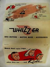 Whizzer ,39-1965 motorbike,bikes economical personal transportation PRINTED