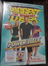 The Biggest Loser: Power Walk DVD (Low Impact Cardio Exercise Workout) New