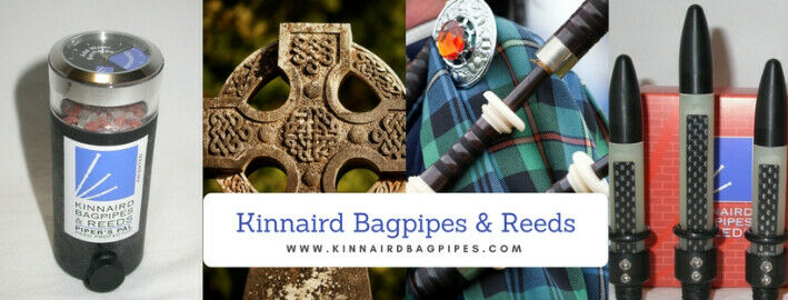 Celtic Gems Kinnaird Bagpipes