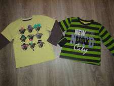 Boys 2x M&Co, Pepco longsleeved tops Dogs t-shirts NEW YORK age 4-5-6 years