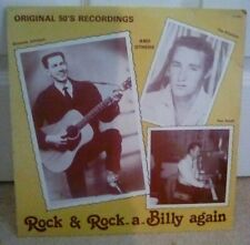 "Rock & Rock-A-Billy Again Vinyl 12"" Compilation Album White Label LP"