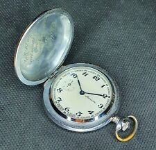 MOLNIJA 3602 18 JEWELS POCKET WATCH  USSR