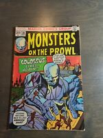 Monsters on the Prowl #25 VG 1973 Marvel comics Bronze age