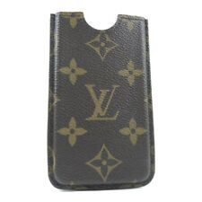 LOUIS VUITTON M60289 Etui iPhone4 Smartphone case Brown Monogram canvas unisex