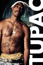Tupac - Rain POSTER 61x91cm NEW * Tupac Shakur 2Pac Makaveli rapper Bravado