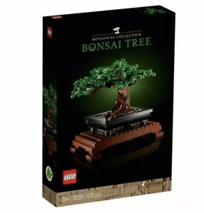 LEGO Creator Expert Botanical Collection 10281 Bonsai Tree - Brand New Sealed