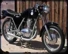 BENELLI Mojave 360 67 01 A4 Imprimé Photo moto Vintage Aged