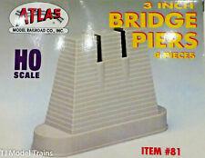 """Atlas Ho #81 3"""" Bridge Piers"""