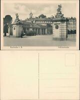 Ansichtskarte Karlsruhe Schloss-Wache am Eingang (Castle Postcard) 1910