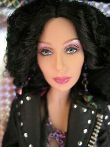 80's Turn Back Time CHER 2007 Barbie Doll Black  Label Mattel