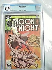 Marvel MOON KNIGHT #6 CGC 9.4 NM White Pages Bill Sienkiewicz 1981